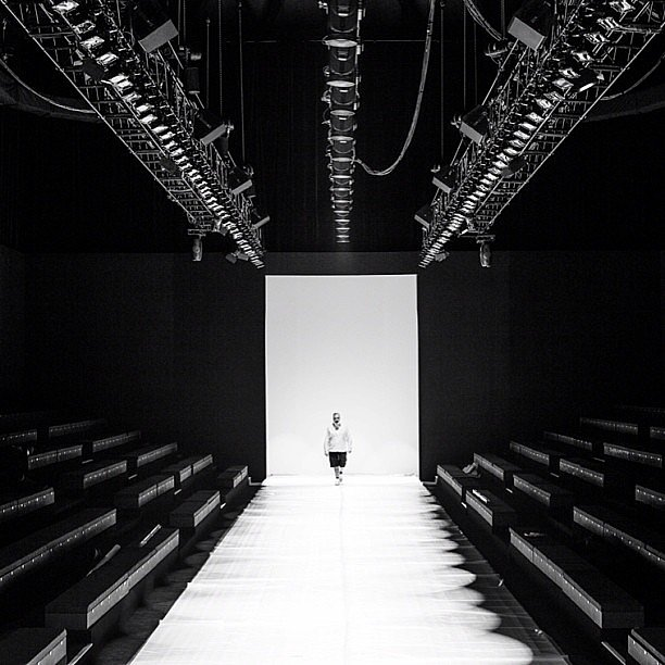 Camilla and Marc shared this pre-show snap on the first morning of MBFWA. Source: Instagram user camillaandmarc