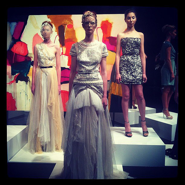 First glimpse of Aurelio Costarella's impressive lineup. Source: Instagram user soph_paterson