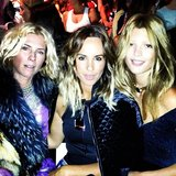 Sarah-Jane Clarke from sass & bide chilled with Pip Edwards and Tanja G at Camilla and Marc. Source: Instagram user pip_edwards1