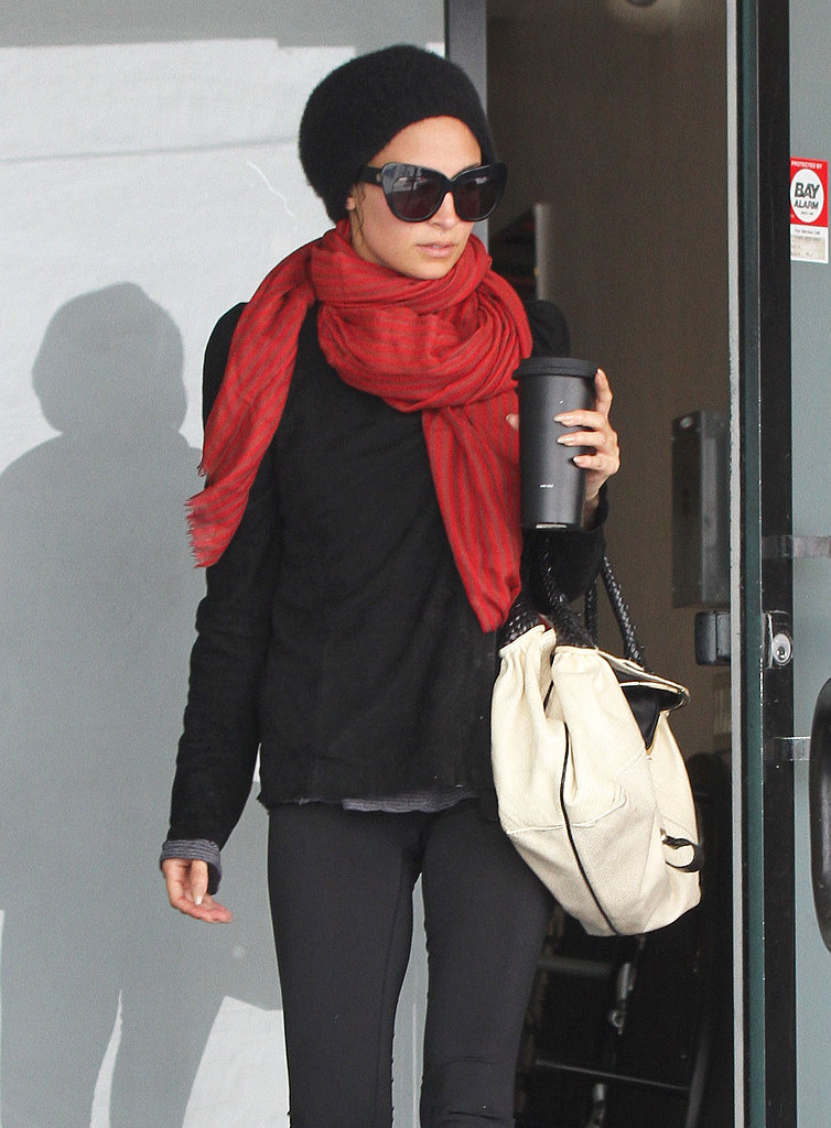 Nicole Richie finished up a workout in LA.