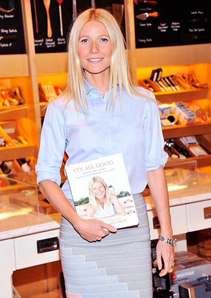 Gwyneth Paltrow Signs Copies of Her Cookbook in the Big Apple