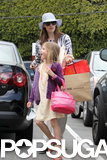Jennifer Garner went shopping with Violet Affleck.