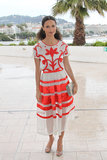 Red and white is a beautifully fresh color combo to try out — look to Thandie Newton's two-tone Temperley London ensemble for inspiration.