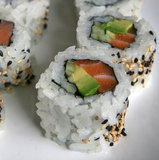 Salmon Roll With Avocado