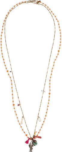 Isabel Marant Set of two embellished necklaces