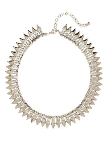 Silver Neith Spearhead Collar
