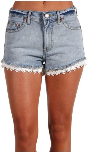 Free People - Lacy Cut-Off Short (Daisy Wash) - Apparel