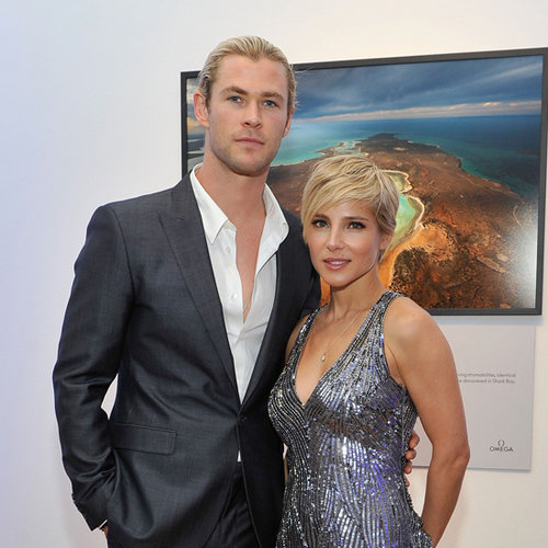Chris Hemsworth, Elsa Pataky, Luke at Oceana Ball in NYC