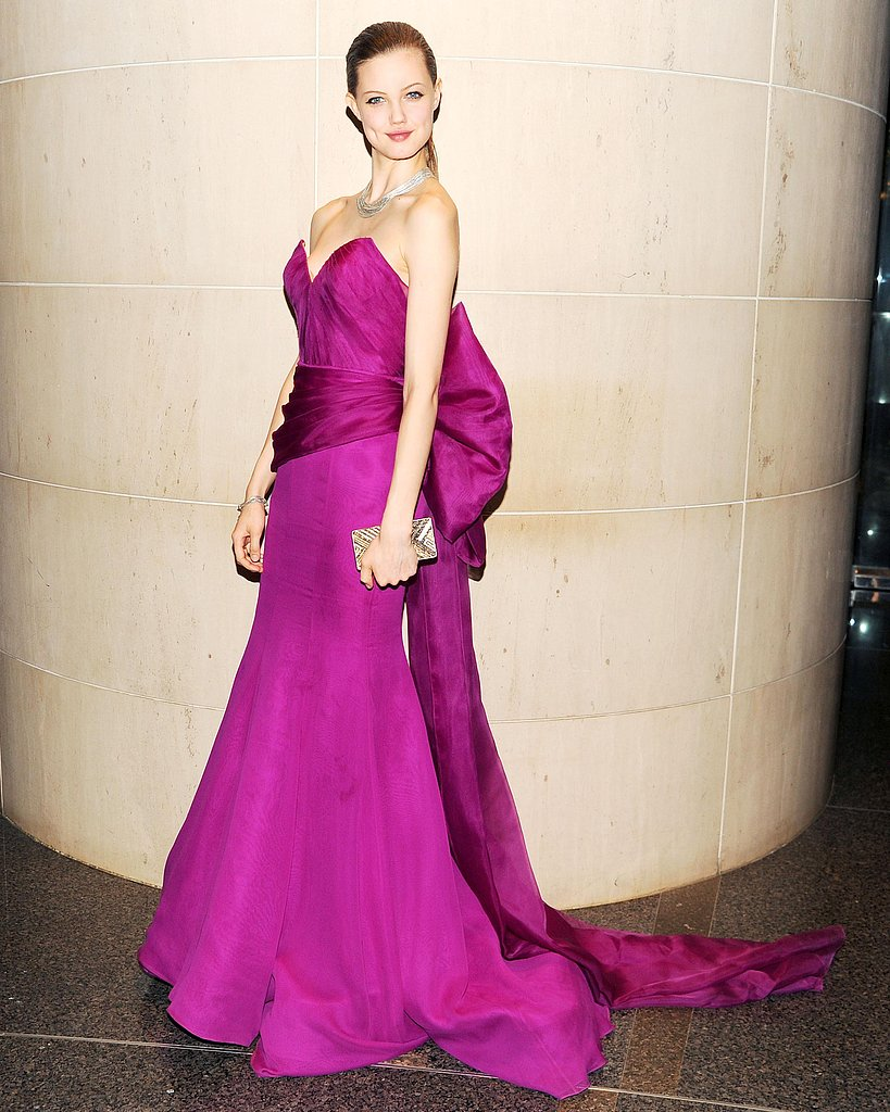 Lindsey Wixson wore Gabriela Cadena at the New Yorkers For Children 10th Anniversary Spring Dinner Dance in New York. Photo: Billy Farrell/BFAnyc.com