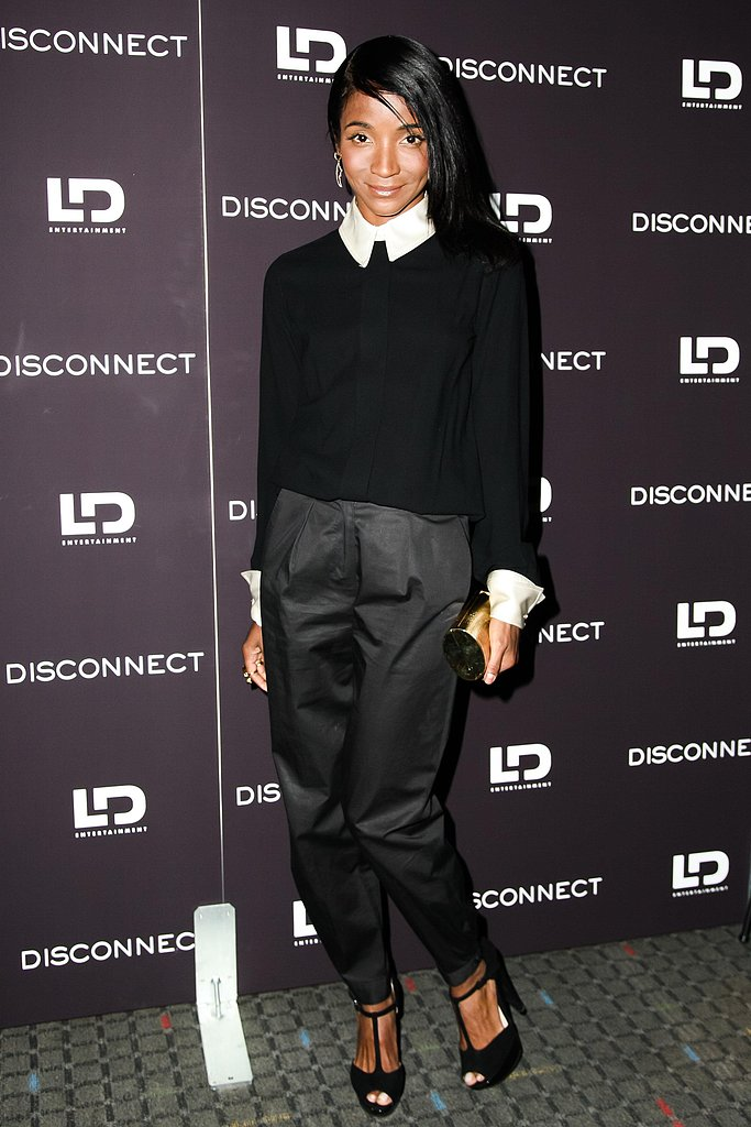 Genevieve Jones at the Disconnect screening in New York. Photo: Matteo Prandoni/BFAnyc.com