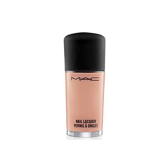 Just like peach-toned makeup, MAC's Nail Lacquer in Skin Creme ($16) flatters most skin tones.
