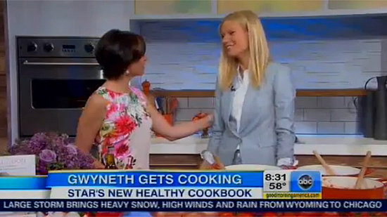 Gwyneth Paltrow Takes On Her New Book's Critics on GMA