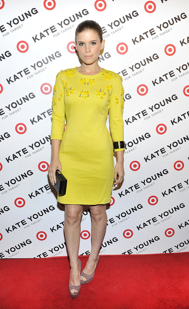 Kate Mara attended the launch.