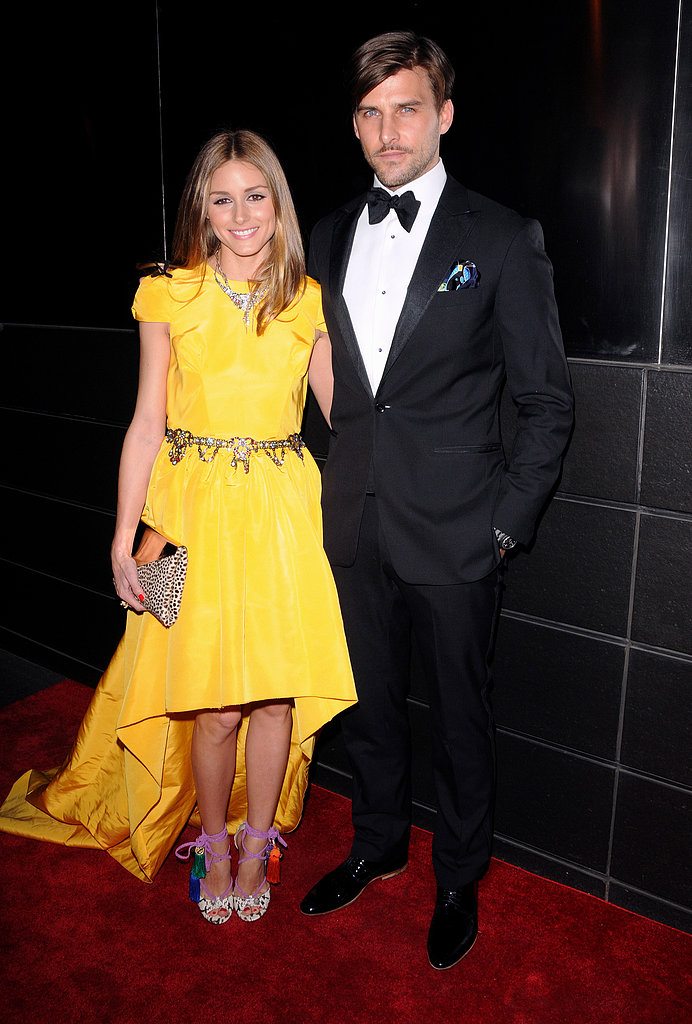 Olivia Palermo wore a Katie Ermilio gown for the New Yorkers for Children dinne
