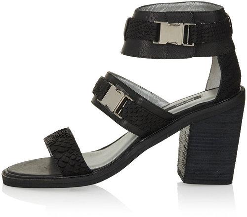 SENSO Block Heel Strap Sandals