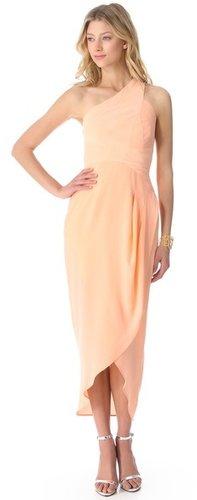 Zimmermann One Shoulder Maxi Dress