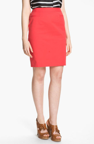 Halogen Stretch Woven Skirt