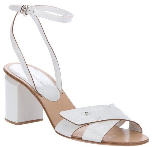 Roberto Del Carlo Cross button sandal