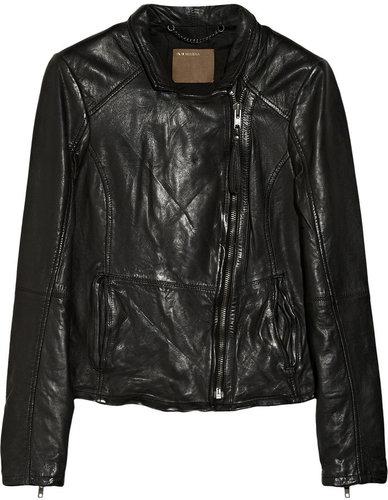 Muubaa Kendyll leather biker jacket
