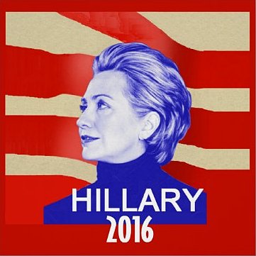 Hillary 2016 poster ($40)