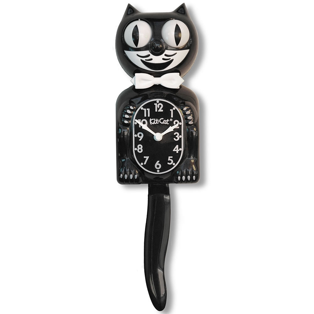 Kitty-Cat Clock ($40)