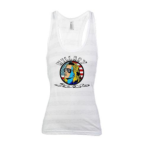 Vote For Hillary 2016 racerback tank top ($21)