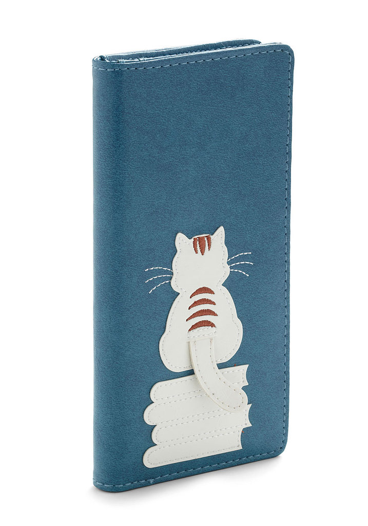 Puss 'n' Books Wallet ($33)