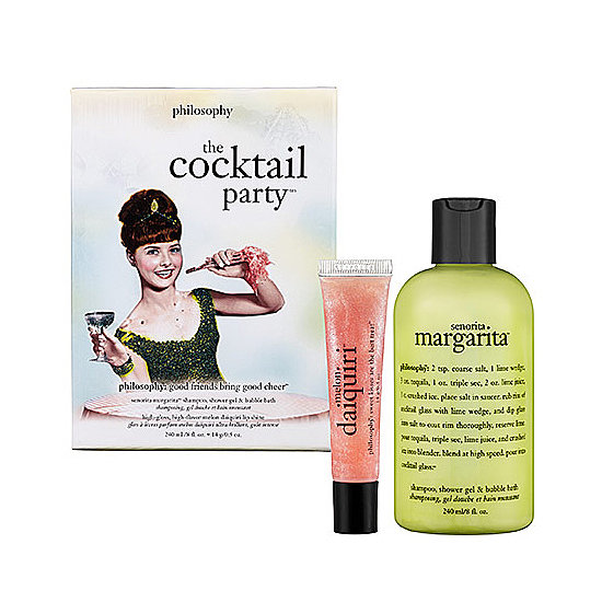 Overindulge in margaritas and daiquiris at the bachelorette party? Have your bridesmaids relive the experience sans alcohol with Philosophy's Cocktail Party Set ($20).