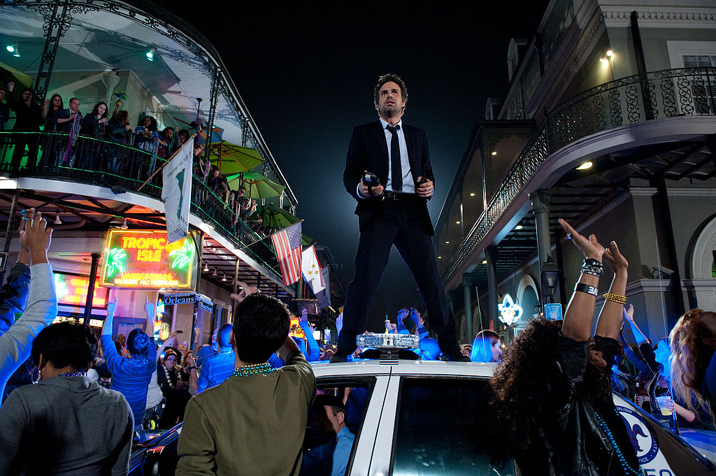 Mark Ruffalo in Now You See Me.