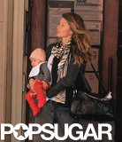 Gisele Bündchen had baby Vivian Brady in her arms for an NYC outing.