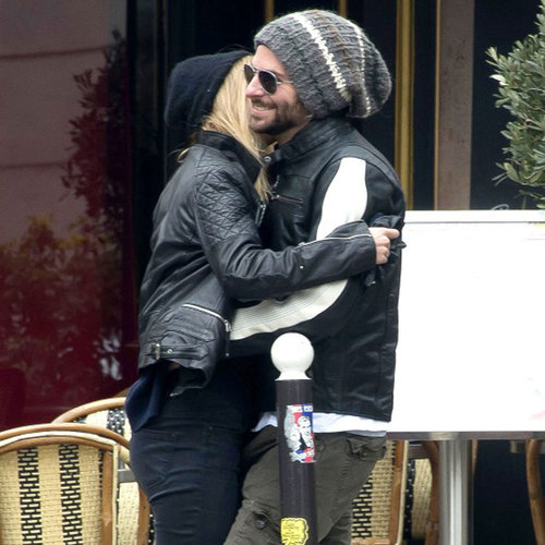 Bradley Cooper and Suki Waterhouse PDA