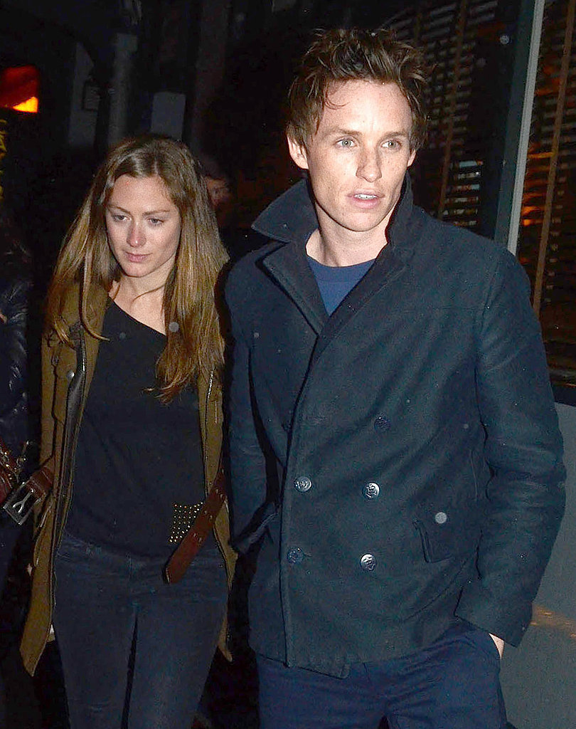 Eddie Redmayne stepped out with his girlfriend in London.