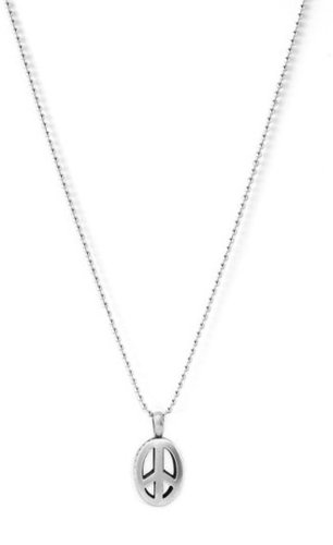 Lagos Sterling Peace Long Pendant Necklace