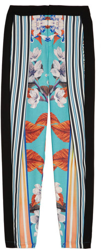 Clover Canyon Printed jersey tapered pants