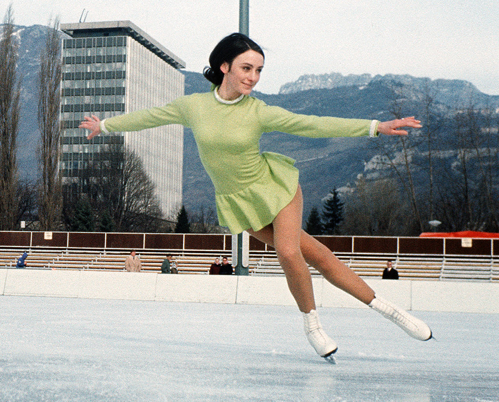 Peggy Fleming Wins Gold