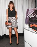 Helena Christensen at the Kipling with Helena Christensen FW '13 Collection Debut in New York. Photo: Angela Pham/BFAnyc.com