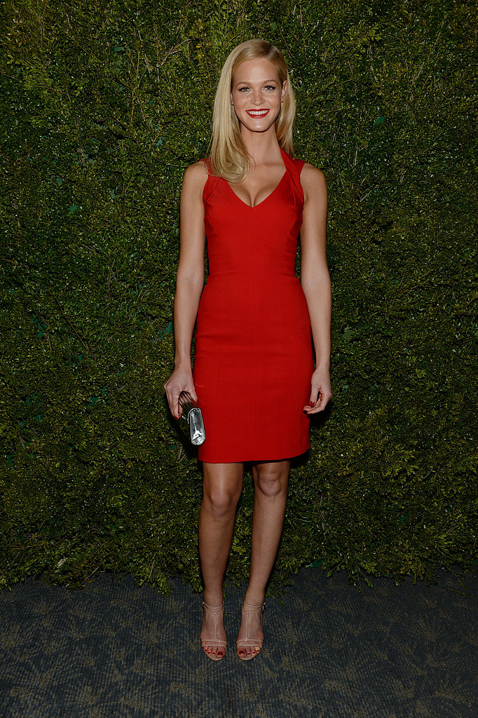 Erin Heatherton at the United Nations World Food Programme Dinner in New York.