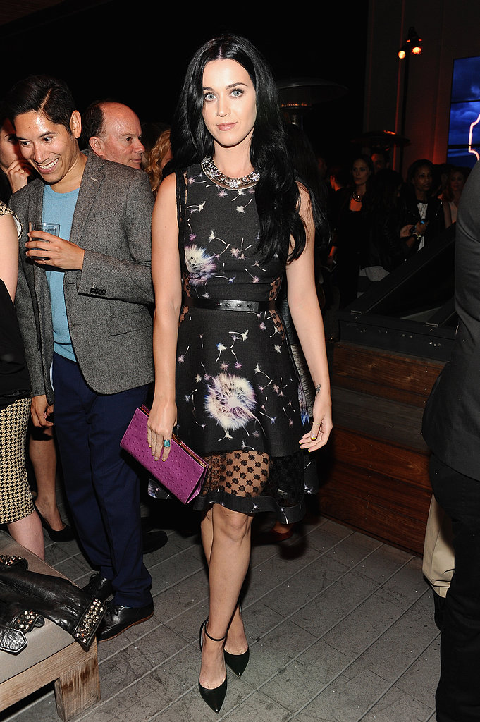 Katy Perry wore Fall 2013 Thakoon at Coach's third annual Evening of Cocktails and Shopping in Santa Monica.