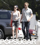 Robert Pattinson and Kristen Stewart grabbed sushi in LA.