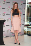 Brooklyn Decker in Light Pink Skirt at 2013 NYC Event