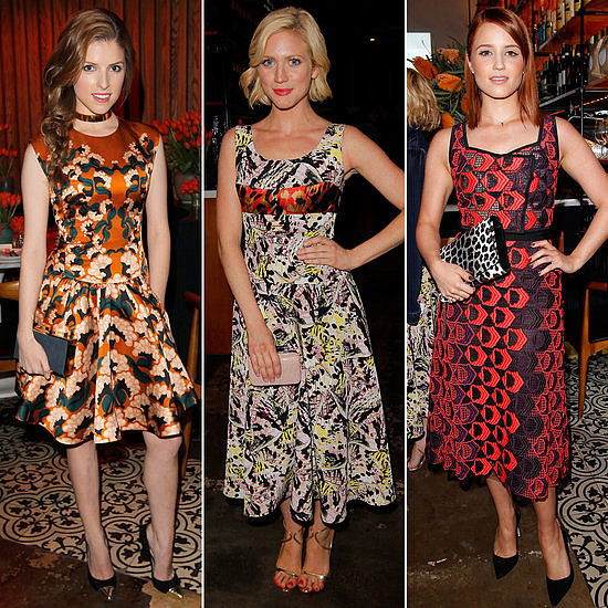 If there was ever a source of inspiration to wear printed dresses this season, we may have just found it.