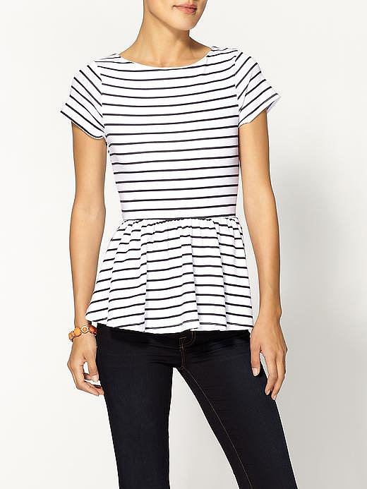 We can hardly think of a place or an outfit we wouldn't want to wear with this striped d.RA Bonaventure Top ($39, originally $49).