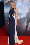This Stella McCartney gown showcased Brooklyn's curves at the Battleship premiere in Japan.