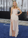Brooklyn Decker in Christian Dior at 2012 Battleship LA Premiere