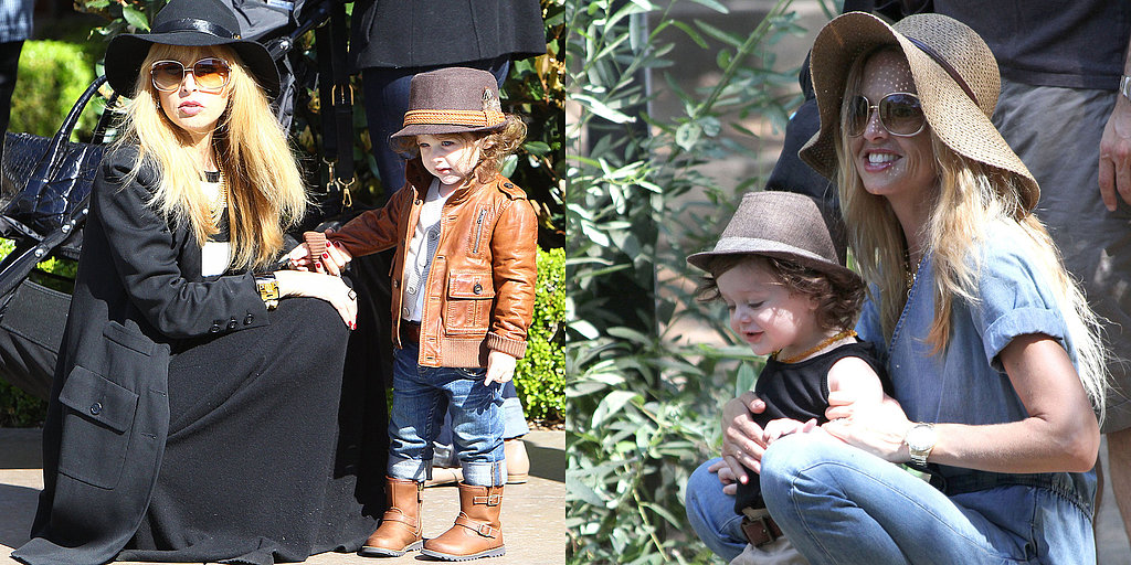 Stylish Tot Skyler Berman is Going to Be a Big Brother!