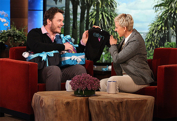 Chris Pratt's Ellen Gear