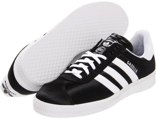 adidas Originals - Gazelle 2 W (Black/White) - Footwear