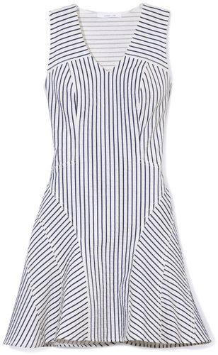 V-Neck Tulip Dress