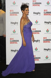 Halle Berry showed off her growing baby bump at the premiere of her new film, The Call, in Buenos Aires on April 9.