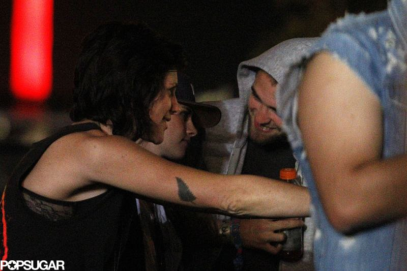 Robert Pattinson and Kristen Stewart  went to Coachella.